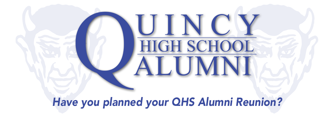 Quincy High School Alumni Header