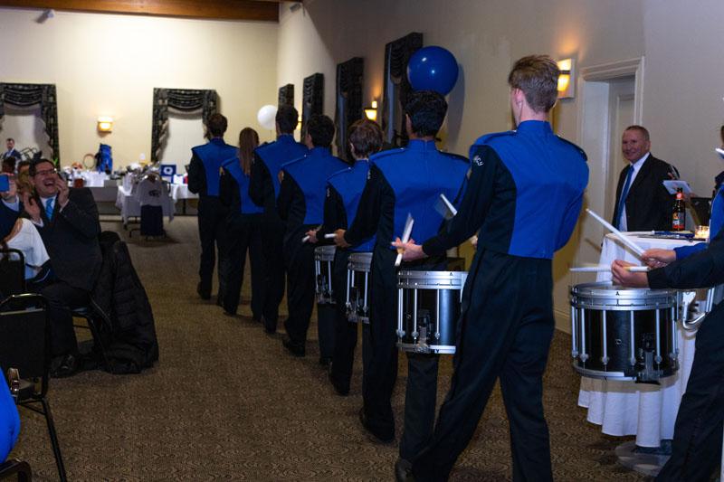 QHS Drummers