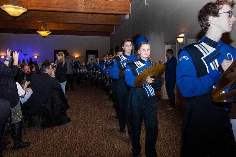 QHS Band at Gala