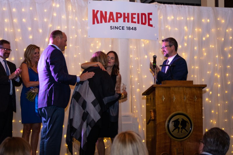 Award Presentation at Gala