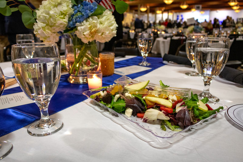 Dinner at Gala Fundraising Event