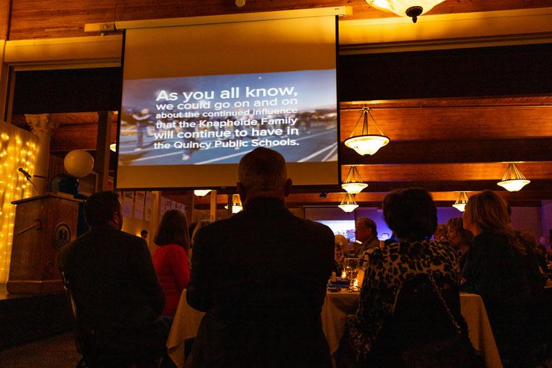 QPS Presentation at Gala